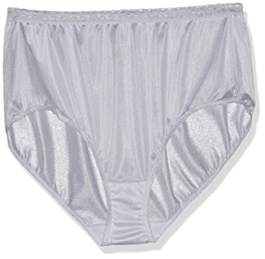 4ab63f80e793 Just My Size Women's 5-Pack Nylon Brief Panties, Assorted Colors and ...