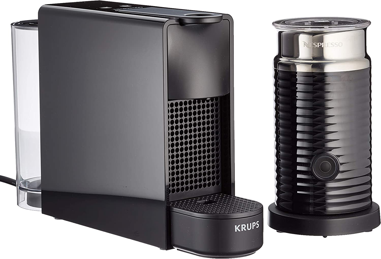 Krups Nespresso Essenza Mini XN110810 Cafetera De Capsulas, 1310 W, 0.6 Litros, Negro: Amazon.es: Hogar
