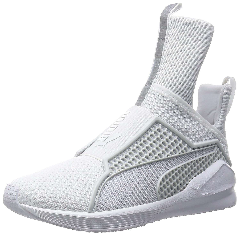 Puma Shoes Fenty x Rihanna Trainer Grey Womens 39 EU|white-white