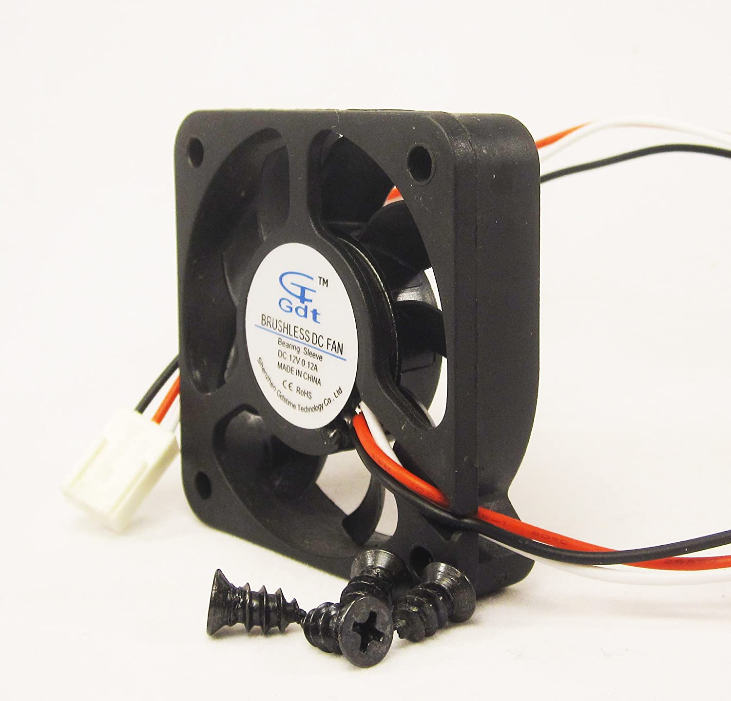 50mm 10mm New Case Fan 12v Dc 10cfm Cpu Computer Cooling Foxconn Wire Diagram Sleeve 5010 3pin Computers Accessories
