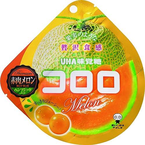 味覚糖   コロロ 赤肉メロン  40G×6袋