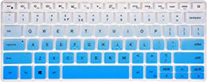 Keyboard Cover for Dell inspiron 13 5301 5390 5391 7306 7390 7391, inspiron 14 5402 5406 5409 5490 5493 5498 7405 7490 Series Laptop - Gradual Blue