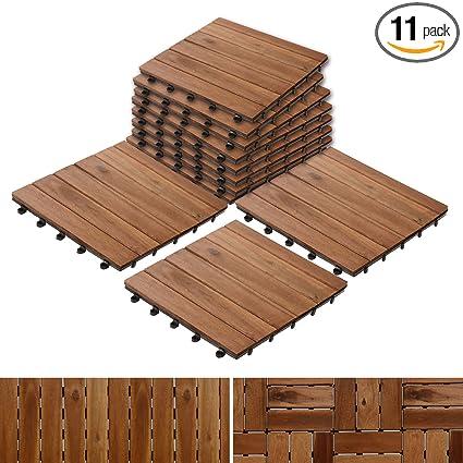 Etonnant Acacia Wood Tile Flooring, Patio Pavers U0026 Composite Decking | Interlocking  Patio Tiles For Outdoor