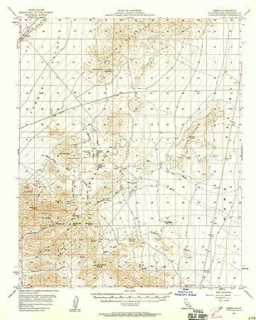 Amazon Com Yellowmaps Essex Ca Topo Map 1 62500 Scale 15 X 15