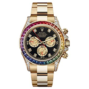 Buy Rainbow Cosmograph Daytona 40mm Swiss Quartz Stainless