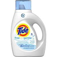 Tide Free And Gentle HE Liquid Laundry Detergent, 1.47L