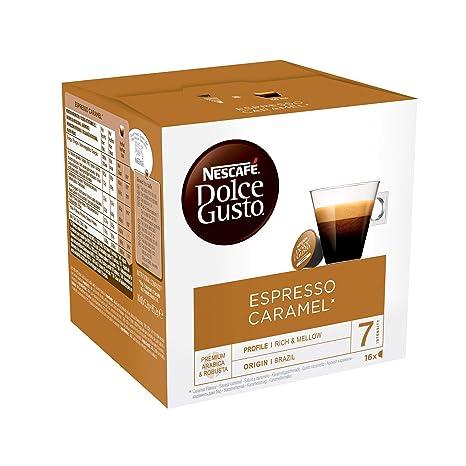 NESCAFÉ Dolce Gusto Espresso Caramel | Cápsulas de Café - 16 cápsulas de café