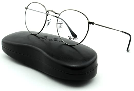 78bbee3e3 ... 50% off ray ban rx3447v unisex metal round eyeglasses matte gunmetal  frame 2620 50 8b9e1