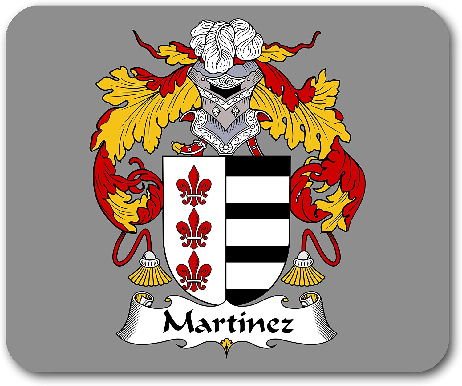 Amazon Com Martinez Coat Of Arms Mousepad Office Products