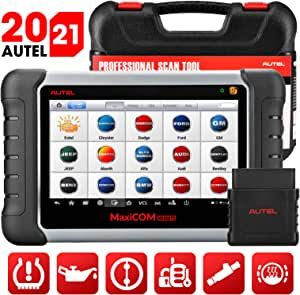 Autel MaxiCOM MK808TS TPMS Scanner with Complete TPMS and Sensor Programming, Diagnosis for All Systems and Combination of Service Functions, Same as MK808/MX808/MK808BT+TS608(upgraded TS601 orTS508)