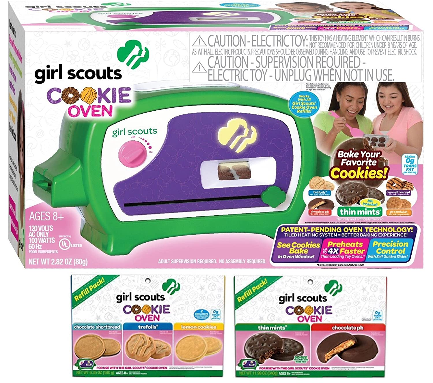 Girl Scouts Cookie Oven Deluxe Gift Set