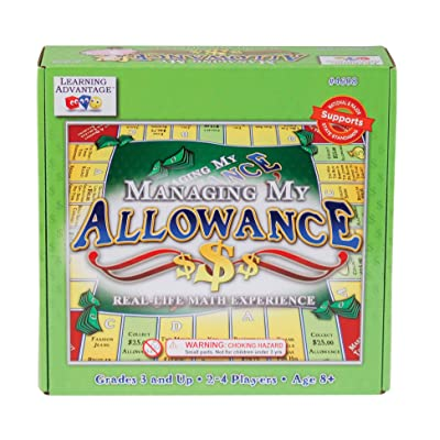 Learning Advantage Managing My Allowance Money Game: Garden & Outdoor