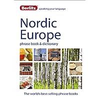 Berlitz Language: Nordic Europe Phrase Book & Dictionary: Norweigan, Swedish, Danish, & Finnish