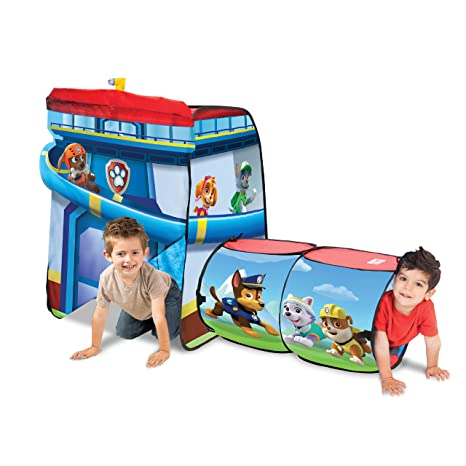 Playhut Paw Patrol Explore 4 Fun Play Tent  sc 1 st  Amazon.com & Amazon.com: Playhut Paw Patrol Explore 4 Fun Play Tent: Toys u0026 Games