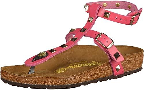 BIRKENSTOCK 947761 MARILLIA NIETEN SANDALI DONNA scarpe ciabatte pelle  Black  Amazon.it  Scarpe e borse 23ec2972181