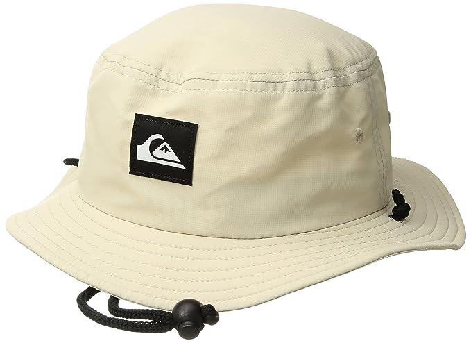 f725e1696f0ad Amazon.com  Quiksilver Men s Bushmaster Sun Protection Bucket Hat ...