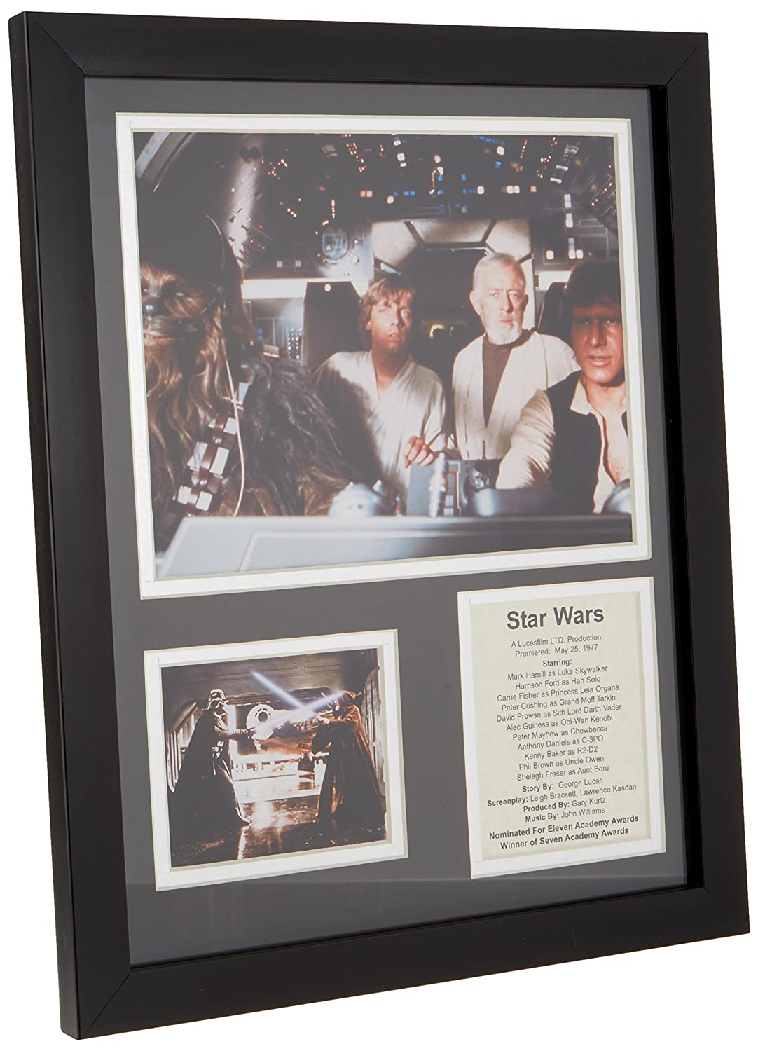 Amazon.com - Legends Never Die Star Wars Action Framed Photo Collage, 11 by 14-Inch - Decorative Plaques