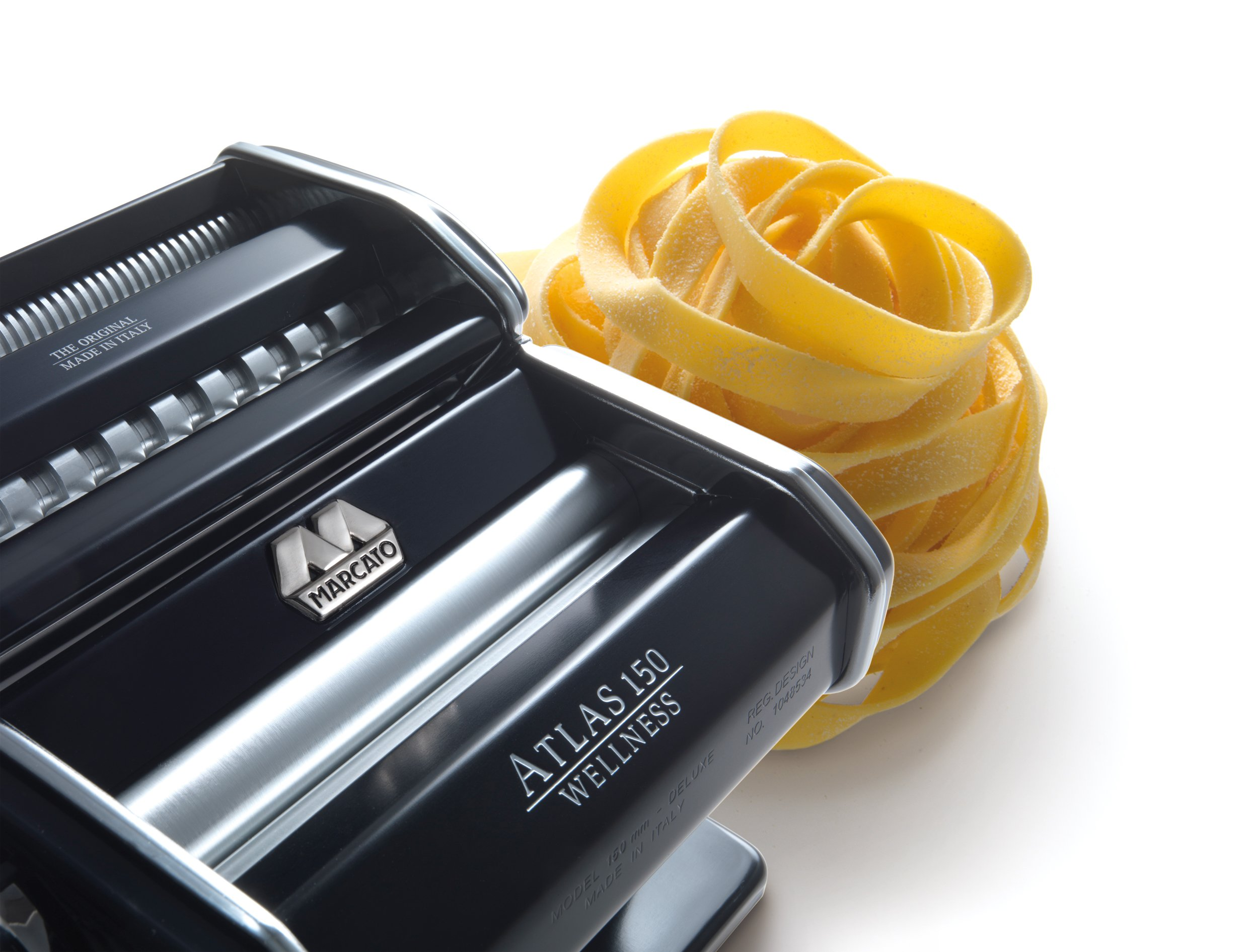 Marcato Atlas Pasta Machine, Made in Italy, Light Blue, Includes Pasta Cutter, Hand Crank, and Instructions by Marcato (Image #11)