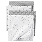 Carter's Flannel Receiving Blankets, Stars