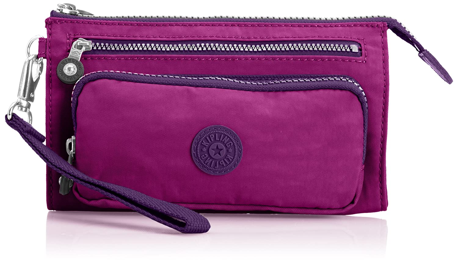 Kipling Women's Uki Purse K1334102O Purp Dahlia C: Amazon.co.uk: Shoes &  Bags