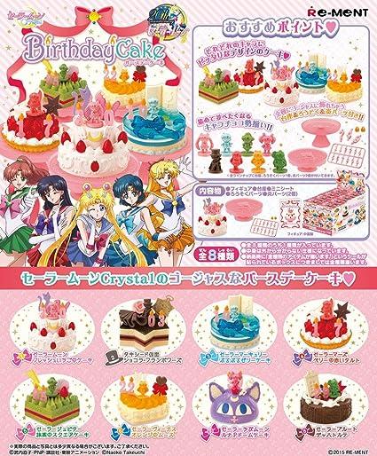 Amazon.com: Re-Ment - Juego de 8 pasteles de cumpleaños en ...