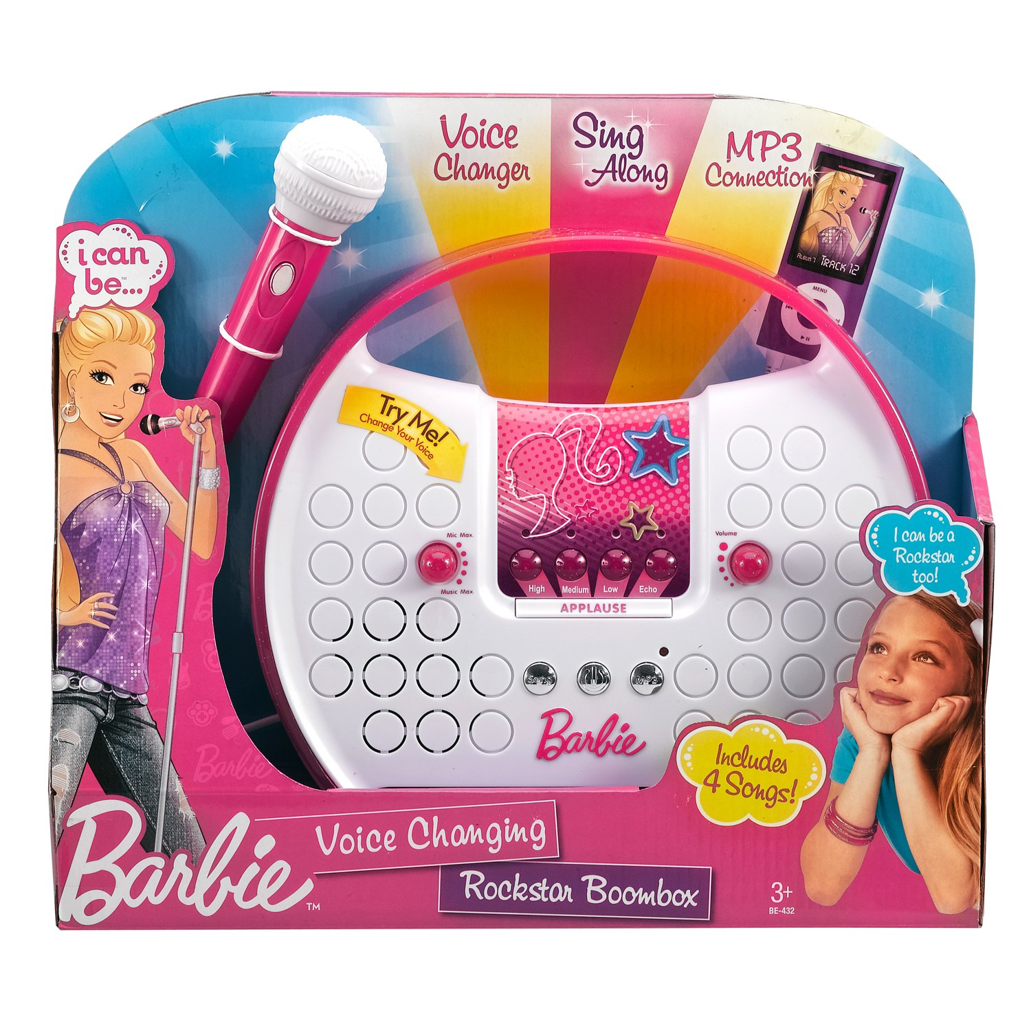 Barbie Voice Changing Rockstar Boombox by Barbie (Image #4)