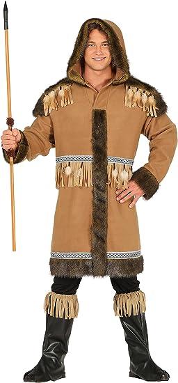 Guirca- Disfraz adulto esquimal, Talla 52-54 (88161.0): Amazon.es ...