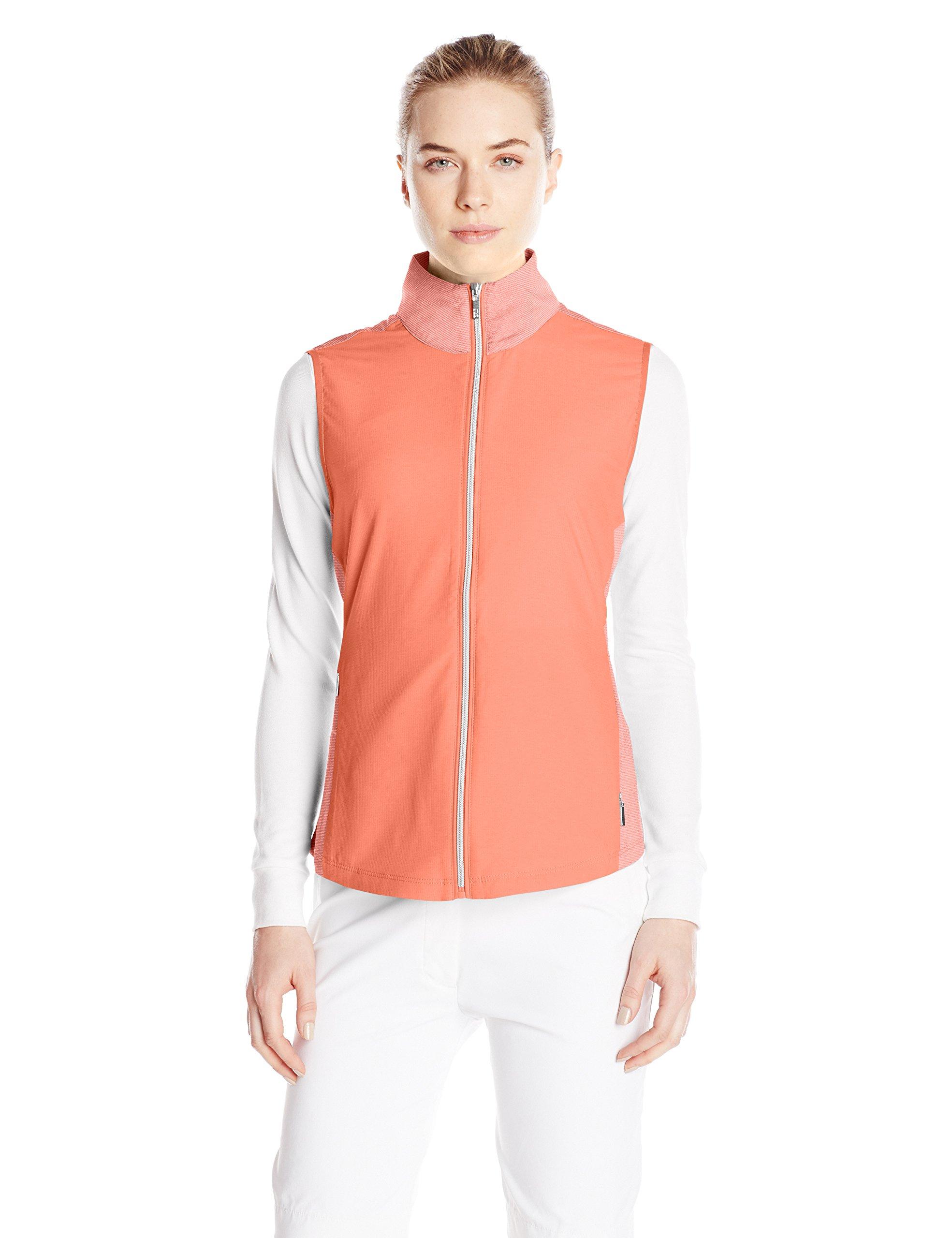 Cutter & Buck Women's CB Weathertec Laura Hybrid Vest, Spark, Small by Cutter