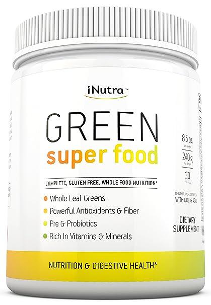 Amazon.com: iNutra Green Super Food - Suplemento dieté ...