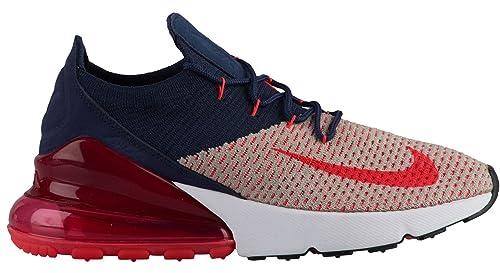 online retailer 093e6 dd21e Nike Air Max 270 Flyknit, Scarpe Running Donna, Multicolore (Moon Particle Red OrbitCollege Navy 200), 42 EU Amazon.it Scarpe e borse