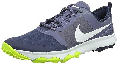 wholesale dealer a47c7 f007b Nike Men s s FI Impact 2 Golf Shoes Grey (Light Carbon Thunder Blue Volt