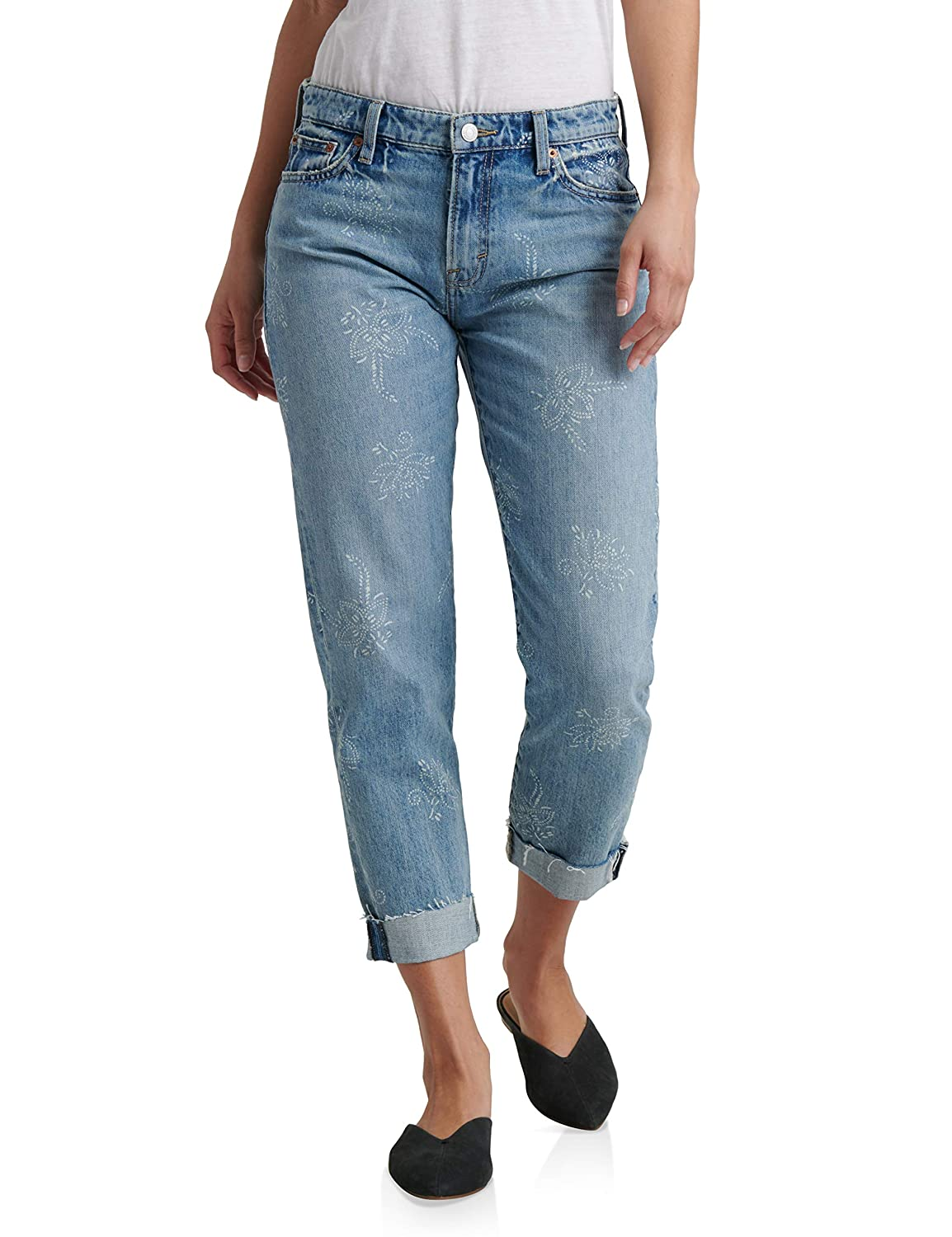 Indigo Lotus Lucky Brand Womens Sienna Slim Boyfriend Jean in Native