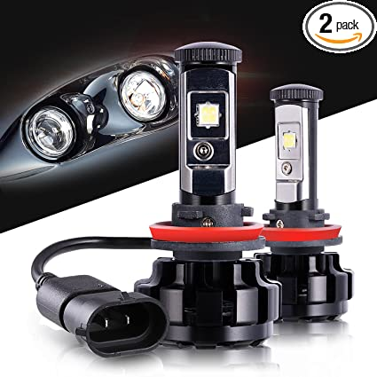 LED Headlight Bulbs H11 CREE Chips All-in-One Conversion Kit,12000 Lumen