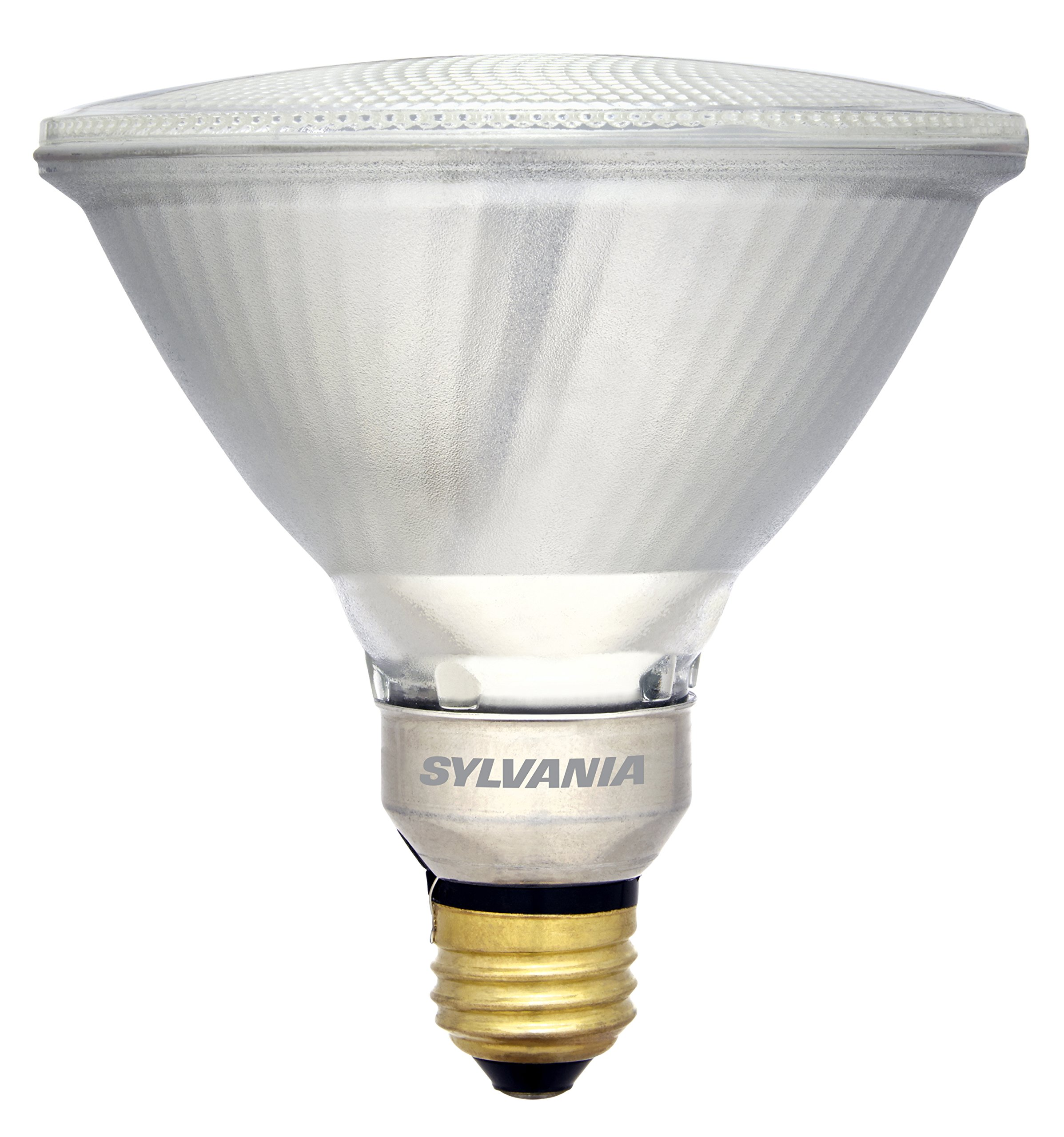 Sylvania 120 Watt Equivalent, PAR38 LED Light Bulb, Bright White, Made in The USA with US and Global Parts, 2 Pack