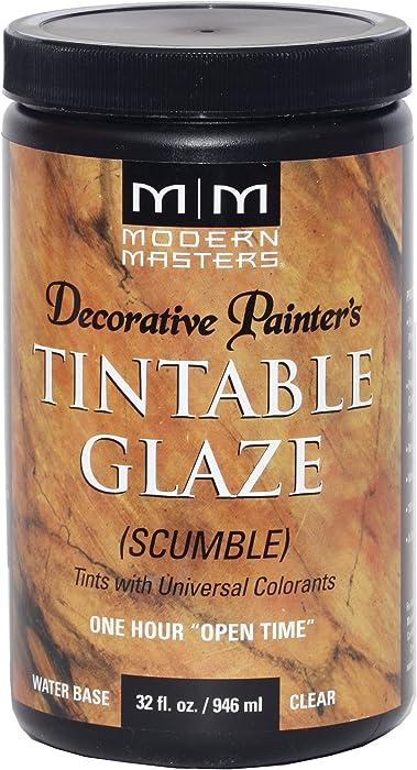 Modern Masters DP608-32 Tinting Glaze Scumble, 32-Ounce