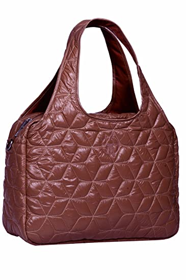 Amazon.com : Lassig Glam Global Diaper Bag, cognac : Diaper Tote ...