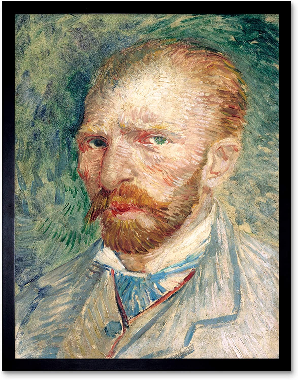 "VINCENT VAN GOGH Painting Poster or Canvas Print /""Self Portrait/"""