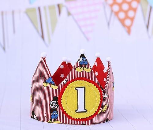Mikey Mouse Corona cumpleaños niños regalo primero ...