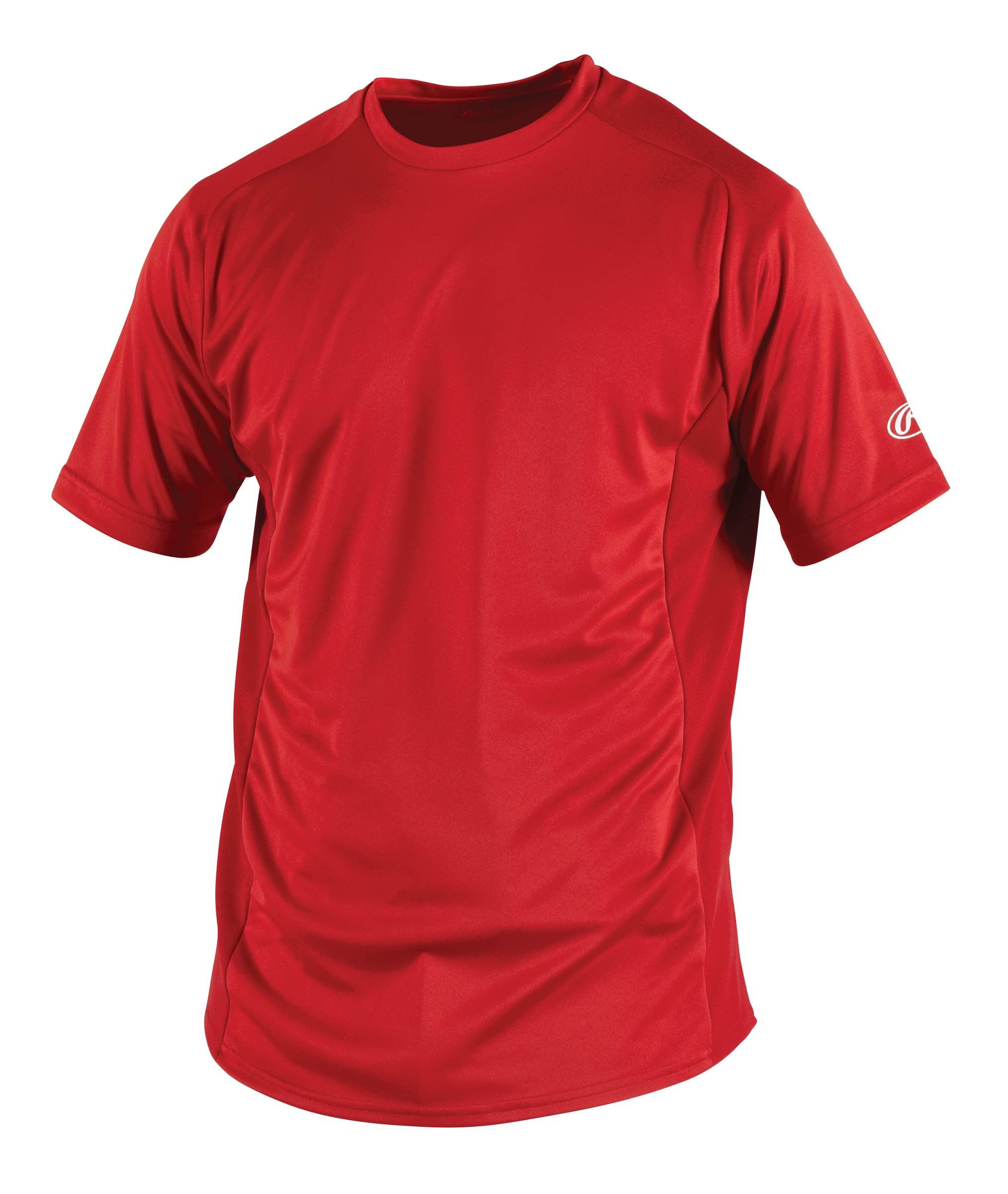 Rawlings Men's Short Sleeve Baselayer