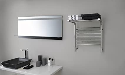 Amba Deluxe Towel Warmer with Shelf