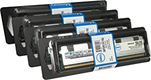 Dell 64GB (4x16GB) Server RAM Upgrade for Dell PowerEdge R410 DDR3 1066Mhz PC3-8500 ECC Registered 4Rx4 CL7 1.35v SNPGRFJCC/16G