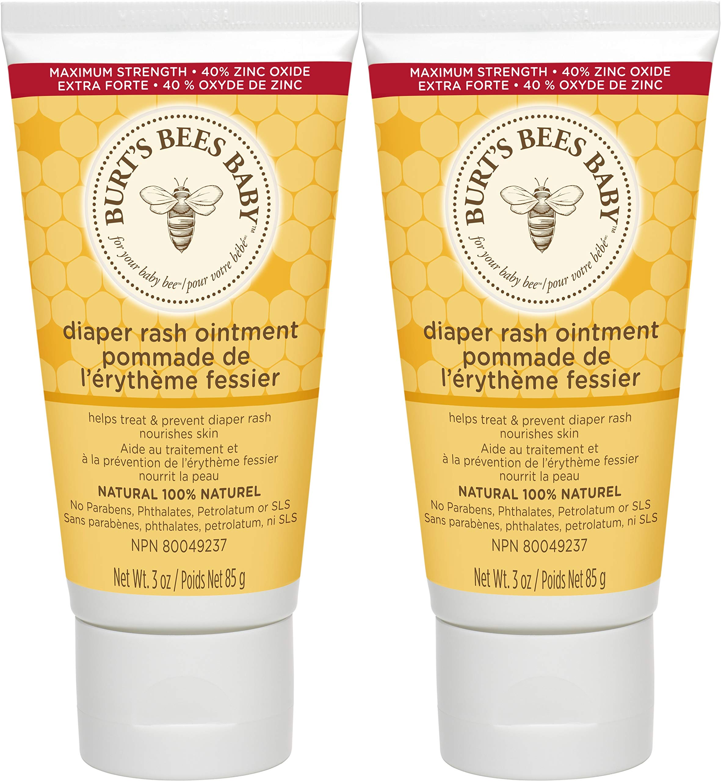 Burt's Bees Baby Diaper Rash Ointment 3 Ounce (Pack of 2) by Burt's Bees Baby
