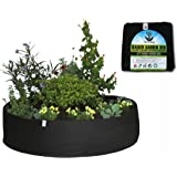 TerraBag Fabric Raised Garden Bed, 100 Gallon Grow Bag for Fruits, Vegetables and Flowers! Makes Gardening Easy for Everyone!