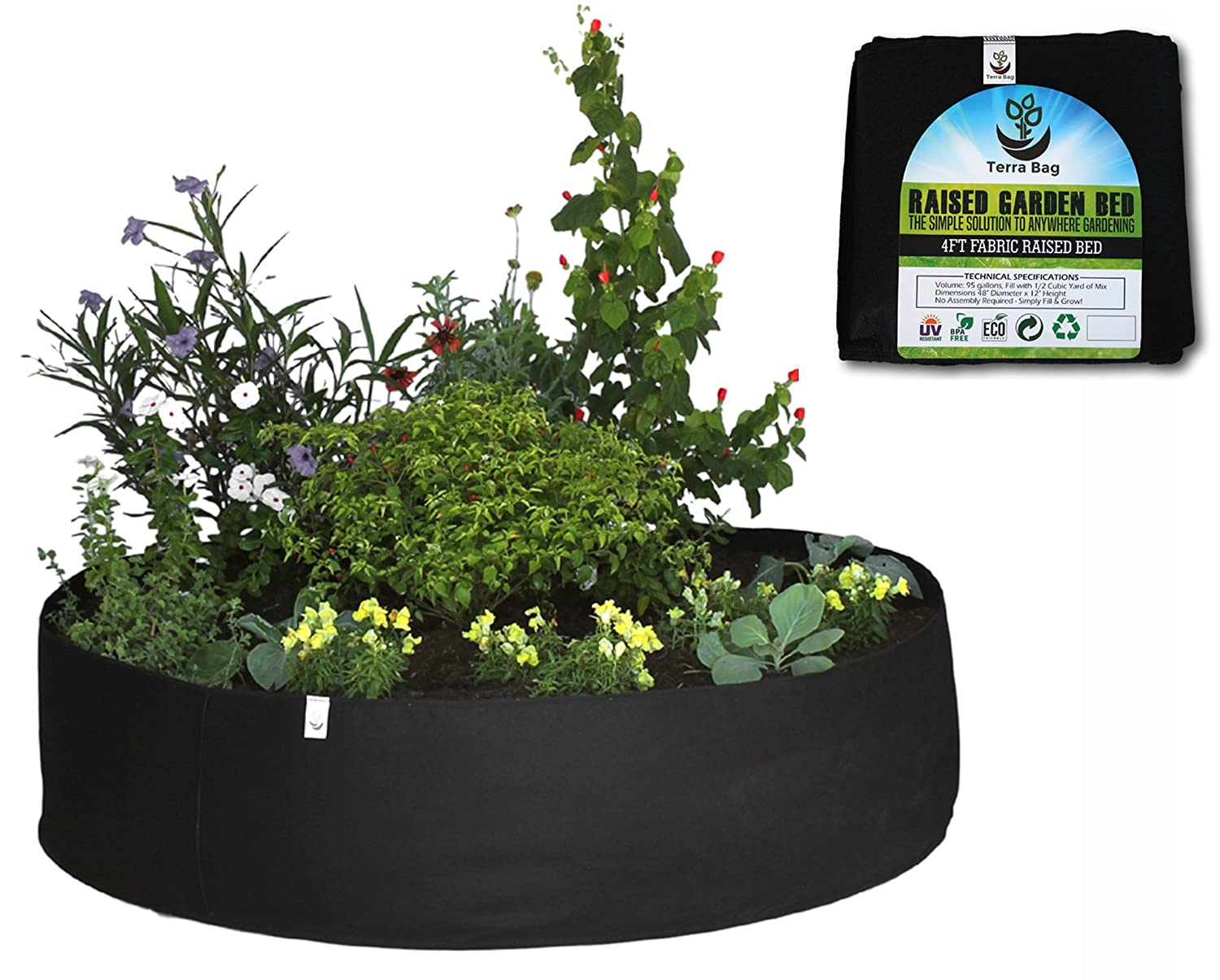 Amazoncom New Product Premium Quality Fabric Raised Garden Bed