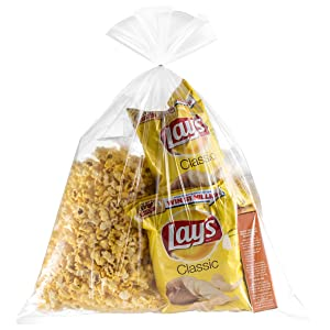 3 Gallon Jumbo Storage Bags With Twisters 30 Count (Clearly Elegent)