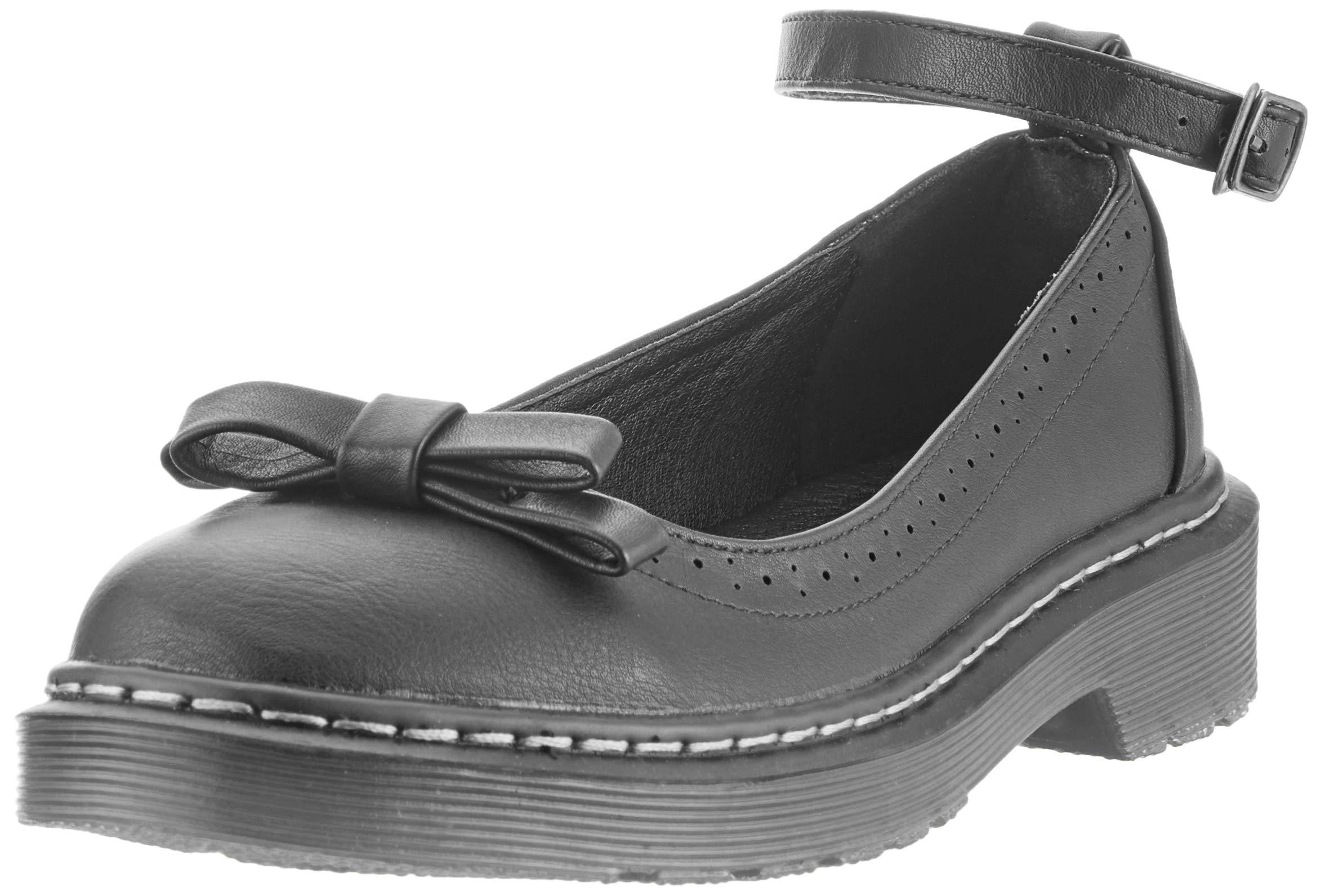 46fd9626174830 Smilun Chaussures Femme Bride Cheville avec Nœud à Deux Boucles Bout Rond  product image
