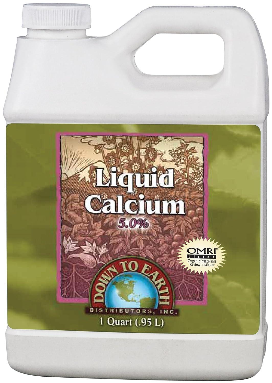 Liquid Calcium 5% 1 Qt.