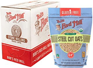 product image for Bob's Red Mill Gluten Free Steel Cut Oats, 24 Oz (4 Pack)