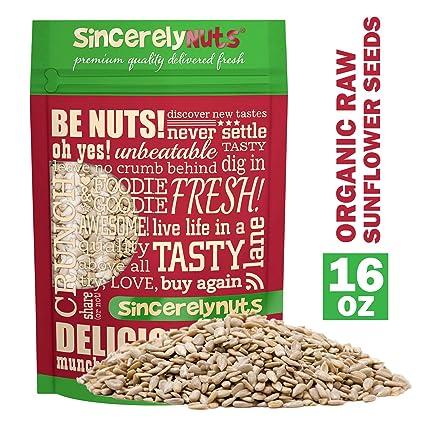 Sincerely Nuts Semillas de girasol orgánicas peladas ...