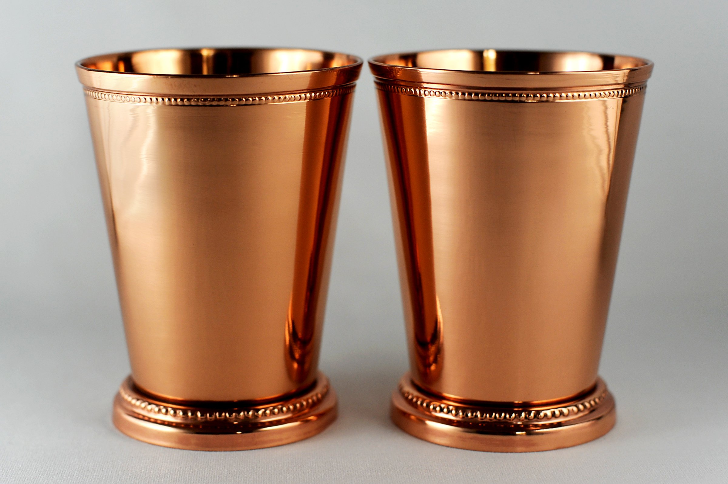 Copper Moscow Mule Mint Julep Cup – 100% pure copper, beautifully handcrafted, 12 oz size